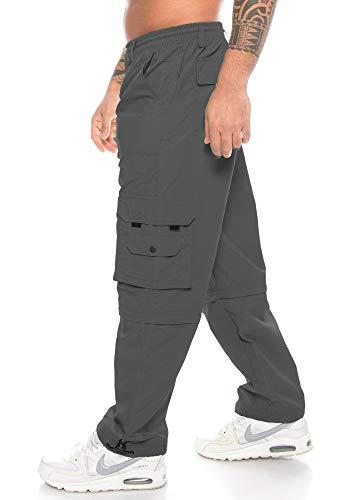 Raff & Taff broek heren functionele broek | Cargo broek | variabele beenlengte | lange broek Bermuda shorts | werkbroek