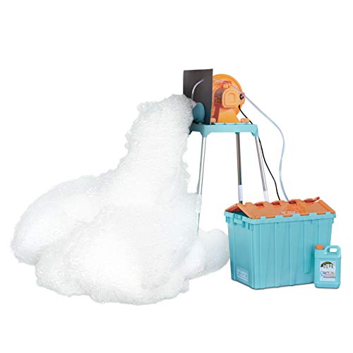 Little Tikes FOAMO Foam Machine is an Easy-to-Assemble Foam Making Toy Perfect for Birthdays, Celebrations or Any Day You Want an Awesome Foam Party