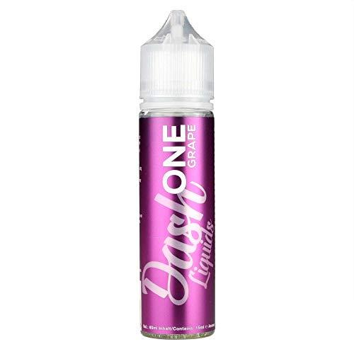 Dash Liquids Aromakonzentrat One Grape, Shake-and-Vape zum Mischen mit Basisliquid für e-Liquid, 0.0 mg Nikotin, 15 ml