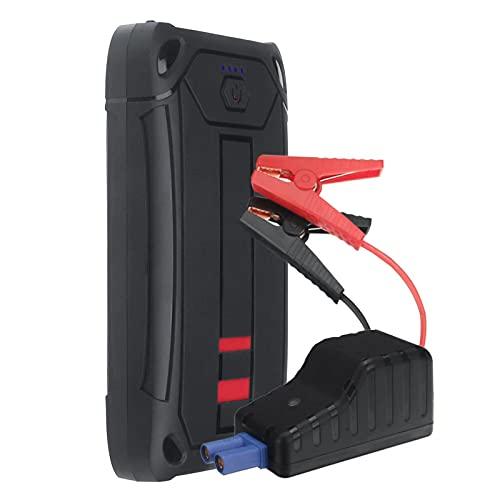 Arrancador de Batería de Coche 1200A 16000mAh Cargador De Batería De Motor Automático Portátiles De 16000mAh Impermeable con DIRIGIÓ Linterna USB Puerto Fácil de Conectar