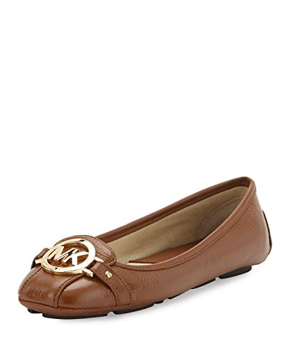 Michael Michael Kors Women's Fulton Moccasin Wide Luggage (10 W)