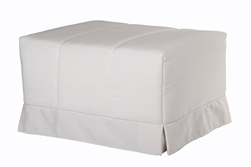 Quality Mobles - Cama Plegable Individual de 80x190 cm Funda Color Natural