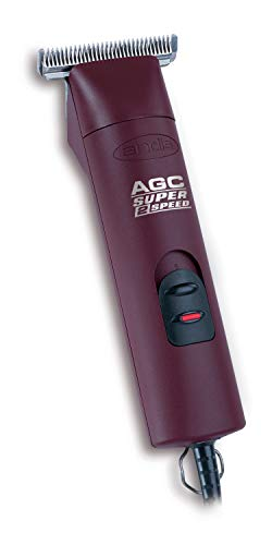 Andis 22330 2-Speed Detachable Blade Equine & Livestock Professional Grooming, Burgundy, AGC2