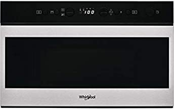 Whirlpool Steam W7 MN820 - Microondas (60 cm), color negro