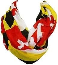 Women's Maryland Flag Infinity Scarf