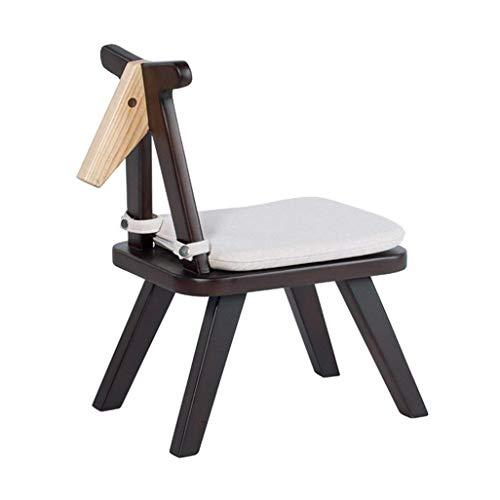 HYYDP Poufs et Repose-Pieds Tabourets Tabourets |Chaise avec siège à 4 Pattes en Bois Be Applicable Compatible Be Applicable Compatible for Enfants ou Tabouret en Bois Massif Be Applicable Compatible