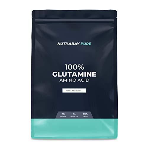 Nutrabay Pure 100% L-Glutamine - Unflavoured, 250g
