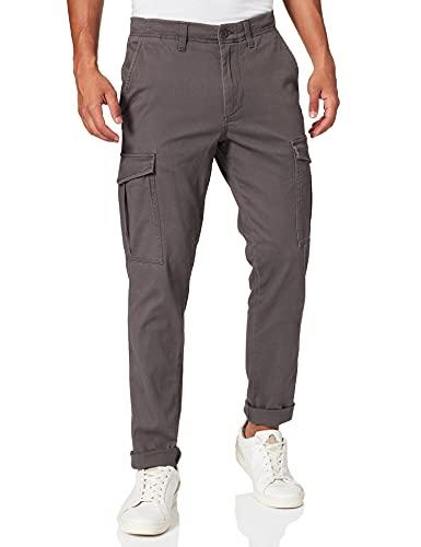 Jack & Jones JJIMARCO JJJOE AKM Asphalt Pantalon Cargo, Gris, 29W x 34L Homme