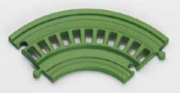 Wader 50220 Knuffieland Ergänzungsschiene Kurve (8 STK)
