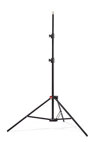 Kaiser Fototechnik Standard Light Stand Stativ 3 Füße schwarz - Stativ (5 kg, 3 Füße, 2,5 m, Metall, 1,28 kg)