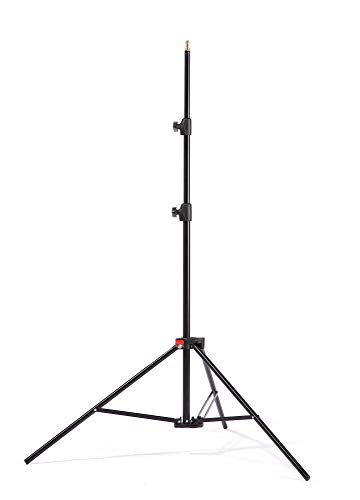 Kaiser Fototechnik Standard Light Stand Stativ 3 Bein(e) Schwarz - Stative (5 kg, 3 Bein(e), 2,5 m, Schwarz, Metall, 1,28 kg)