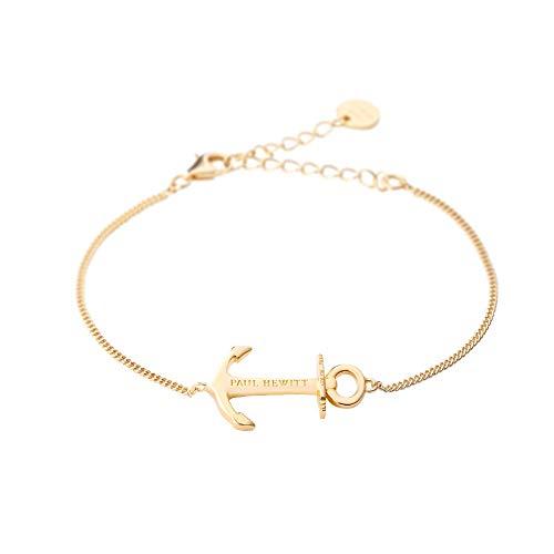 PAUL HEWITT Anker Armkette Anchor Spirit Plated - Armkette Damen Silber 925 (vergoldet), Anker Armband Frauen