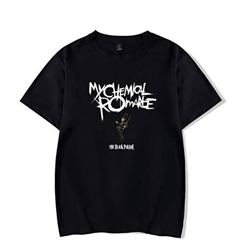 My Chemical Romance Camisetas de algodón de Manga Corta de Verano Unisex (3,M)
