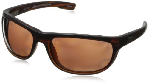 Hobie Cruz Oval Sunglasses,Satin Brown Wood Grain,64 mm