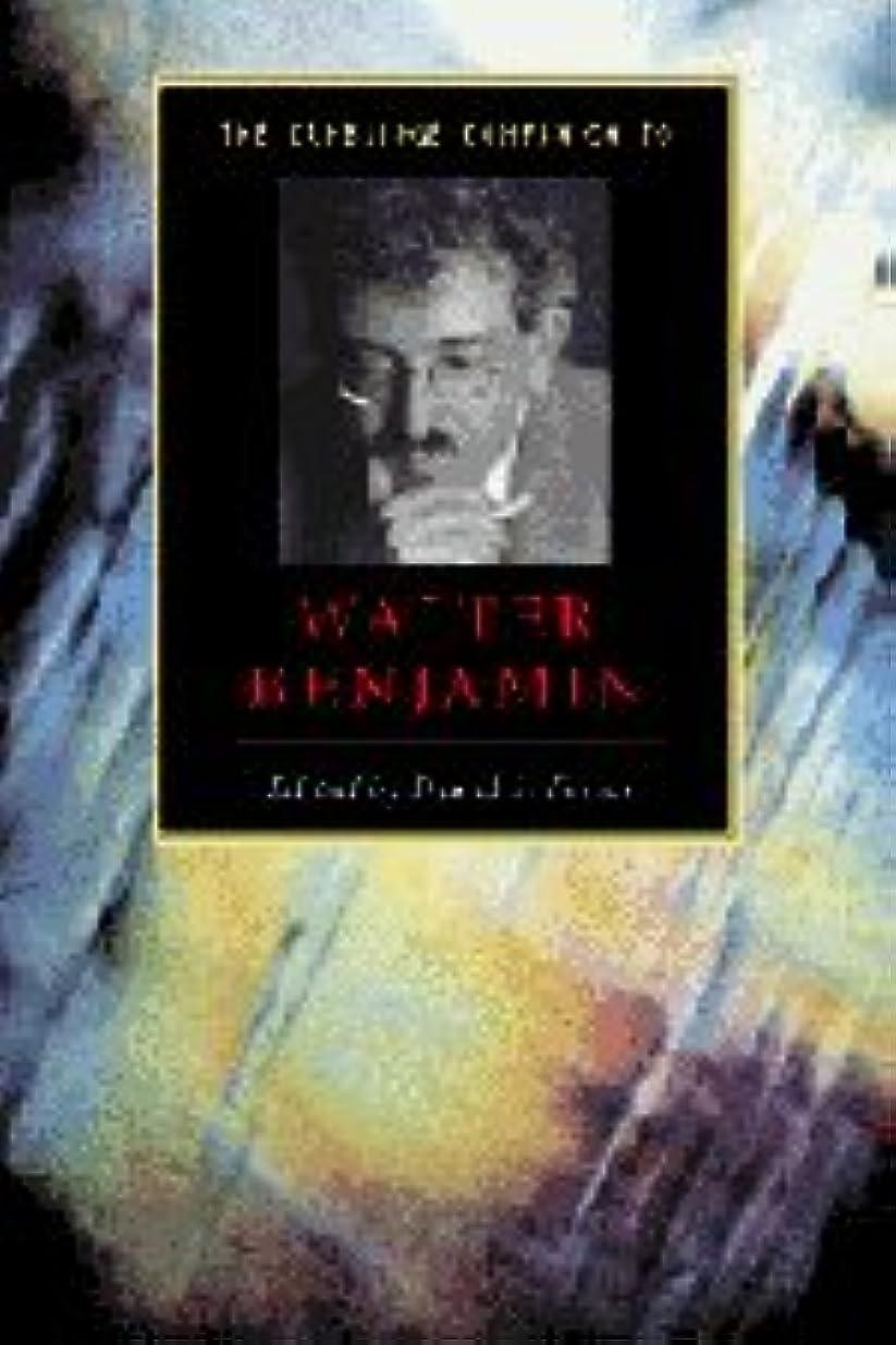 ライバル扇動する標準Camb Companion to Walter Benjamin (Cambridge Companions to Literature)