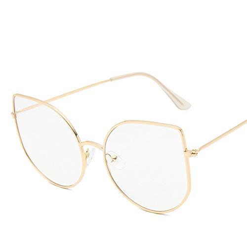 Gafas De Sol Gafas De Sol para Mujer Gafas De Sol con Montura Metálica Gafas De Diseñador De Lujo Gafas Vintage para Mujer 7