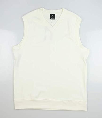 Nike New Mens Sweater Vest Medium M Cream AV5225