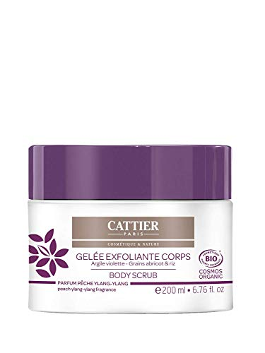 Cattier-Paris Körper Peeling Lila Heilerde - Body Scrub, 200 ml