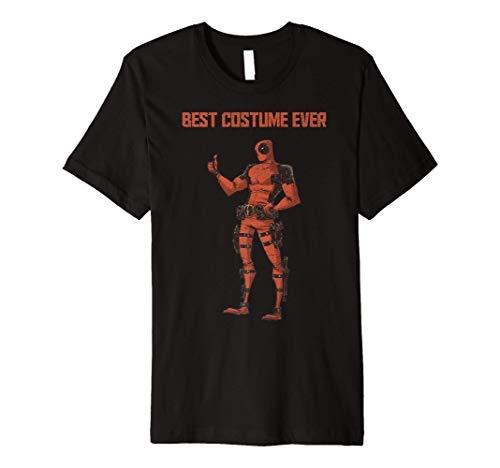 Marvel Deadpool Best Costume Ever Portrait Premium T-Shirt