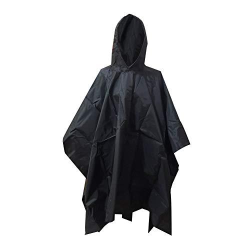 DHYED Estera de picnic al aire libre para camping, tienda de campaña, lluvia al aire libre, 3 en 1, mochila con capucha, chubasquero, camuflaje, resistente a la humedad