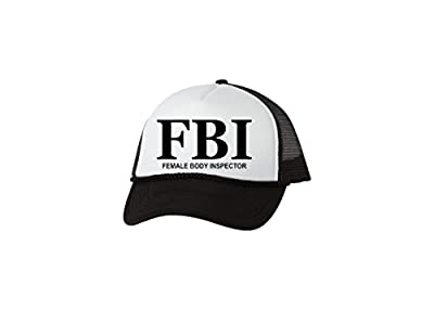 Rogue River Tactical Funny FBI Hat Female Body Inspector Baseball Cap Retro Vintage Joke Trucker