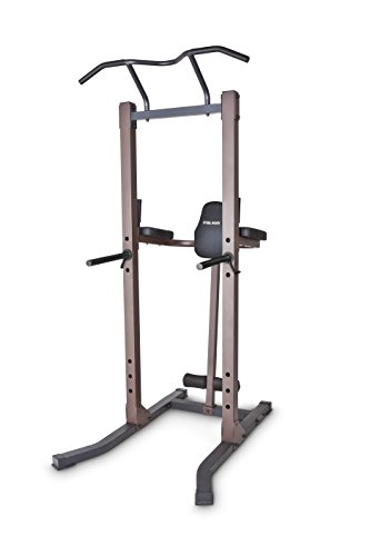 Steelbody Strength Training Power Tower Pull Up & Dip Station VKR Home Gym STB-98501