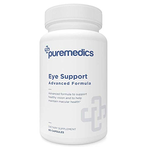 PUREMEDICS AREDS 2 Eye Vitamins - 12-in-1 Eye Health Vitamins to Support Healthy Vision - Pharmaceutical-Grade - 3rd Party Certified - Hypoallergenic - 60 Capsules
