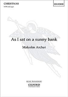 As I sat on a sunny bank