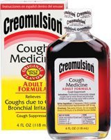 Creomulsion Adult Cough Medicine, 4 Ounce (Pack of 3) by Creomulsion
