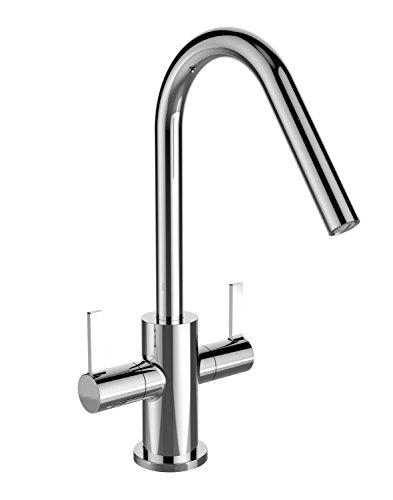 Bristan CSH EFSNK C Cashew Easyfit Kitchen Sink Mixer Tap with Swivel Spout, Chrome