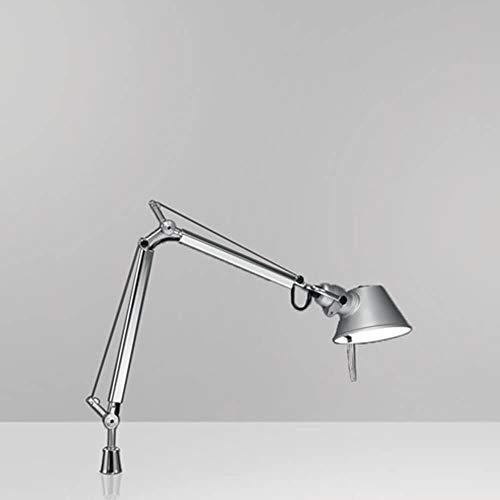 Artemide Tolomeo Micro LED 3000K lámpara de mesa con soporte fijo