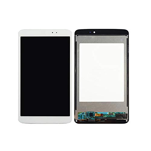 Pantalla 8,3 '' Pulgadas de Pantalla LCD + de la Pantalla táctil asamblea de Cristal en Forma for el LG G Pad 8.3 V500 Versión WiFi (Color : White No Frame)