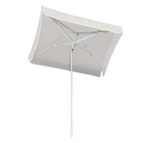 ZXYY Garden umbrella Outdoor umbrella Arch diameter Parasol Parasol for beach/pool/patio umbrellas Square sunscreen UV50 + White
