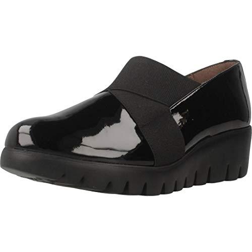 Wonders Zapatos Mujer C33132 para Mujer Negro 36 EU