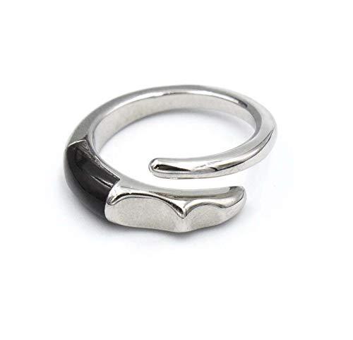 Brel ring van gesatineerd staal Breilja maat 15