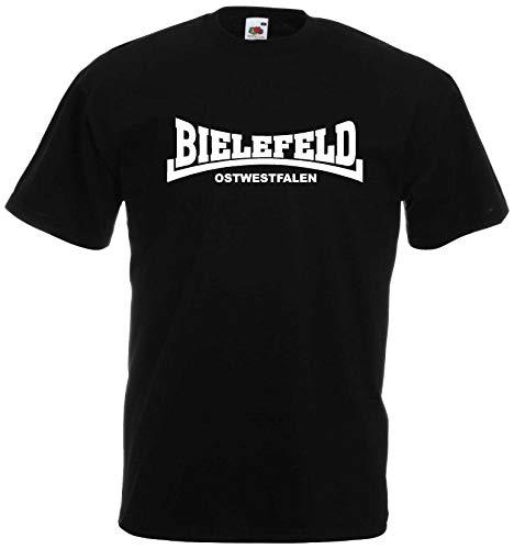 World of Shirt Herren T-Shirt Bielefeld Ultras Ostwestfalen