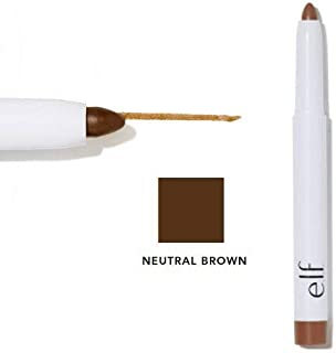 e.l.f. Tinted Shape & Stay Wax Eyebrow Pencil 21753 Neutral Brown