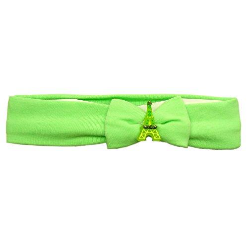 Souvenirs de France - Bandeau Cheveux Fille Paris - Vert