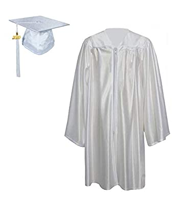 GraduationForYou Shiny Kindergarten Gown Cap Tassel 2017