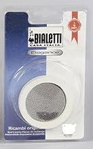 Bialetti Gummidichtung u. Filter Sieb für 10 Tassen Venus Bialetti Espressomaschine