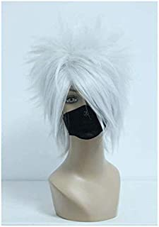 Short Choppy Fluffy Boy Male Halloween Anime Comic Cosplay Costume Synthetic Halloween Wigs