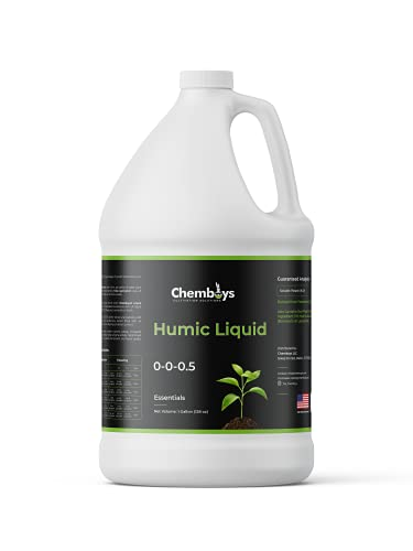 Chemboys Organic Humic Acid with Fulvic – Liquid Carbon Concentrated Plant Supplement for Increased Nutrient Uptake, Soil, Lawns, Hydroponics & Garden – Soil Conditioner Plant Food Enhancer