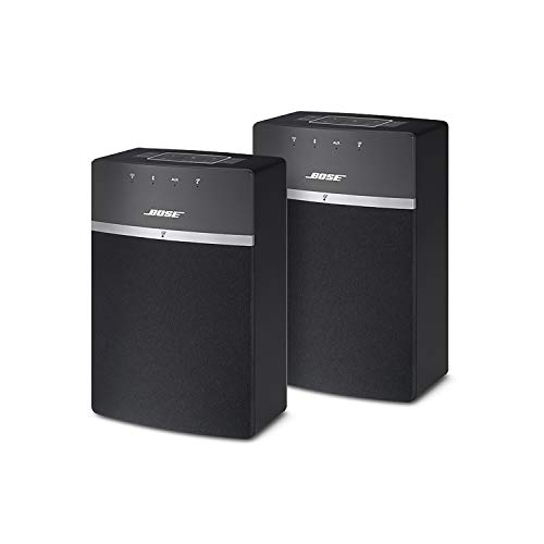 Bose SoundTouch 10 Wi-Fi-Lautsprecher, Schwarz, 2 Stück