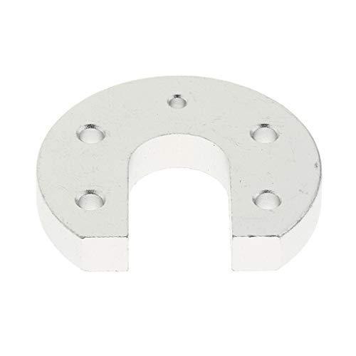 IPOTCH Hot End Circular Aluminium Fixed Plate für V6 J Head Kossel Reprap 3D Drucker