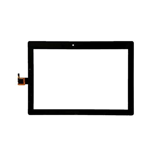 Kit de repuesto de pantalla de 10,1 pulgadas, compatible con Lenovo Tab 2 A10-30 YT3-X30 X30F TB2-X30F Tb2-x30l digitalizador de pantalla táctil Kit de reparación de panel de vidrio (color: blanco)