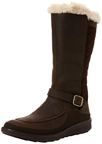 Merrell Damen Tremblant Ezra Tall Polar Waterproof Hohe Stiefel, Braun (Espresso), 42 EU