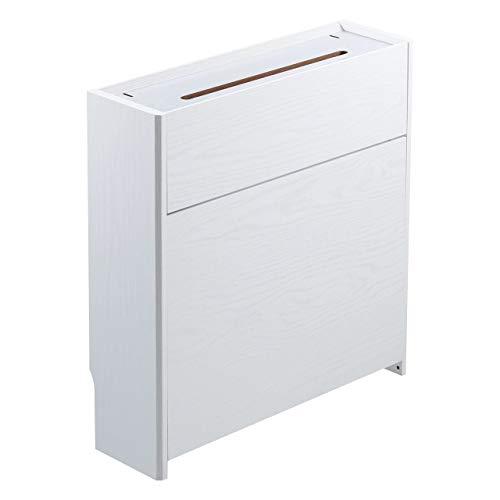 サンワダイレクト ケーブルボックス 木製 ケーブル ルーター 収納ボックス 幅50cm 高さ52.5cm 200-CB018WM