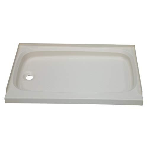 """Better Bath 209490 Duschwanne mit Ablauf Links, pargament, 24"""" x 32"""""""