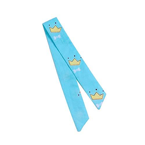 WEIHUIMEI 1 Stück süße Baumwolle Wild Kleine frische Tuch mit Uhrenarmband/Uhr Candy Farbe Band Band, 8#, Watch Strap