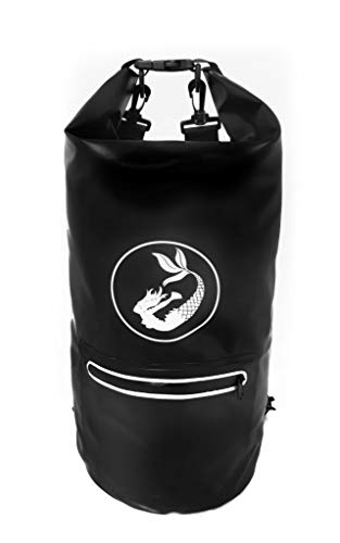 Bolsa Impermeable, estanca 15L, Color Negro Deportes
